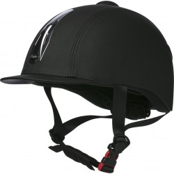 "Casco Choplin ""Premium grainé"" Ajustable"