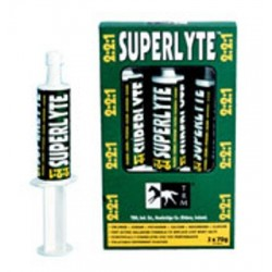 SUPERLYTE SYRINGE 3X70 (ELECTROLITOS EN PASTA ORAL)